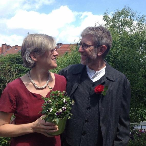 Huwelijksverjaardag Ann en Peter
