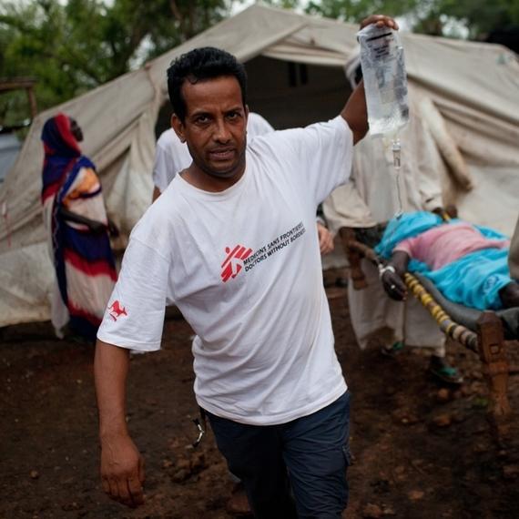 Collecte pour MSF à l'occasion de nos 120 ans