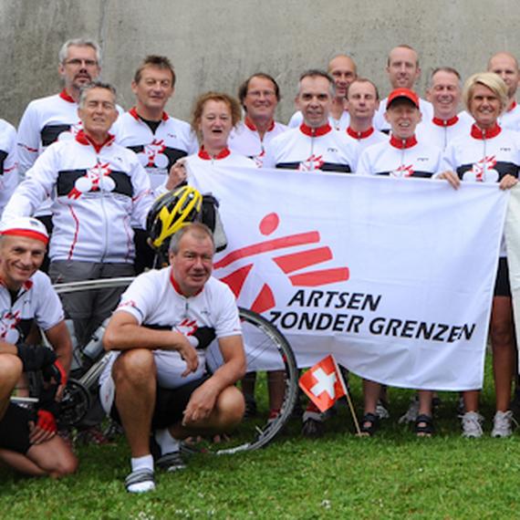 Cyclosportifs pour MSF