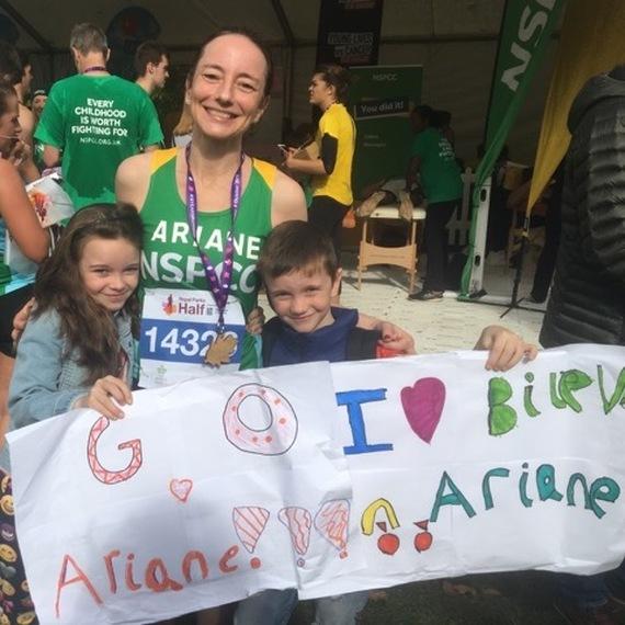 Page de collecte de Ariane Chapelle