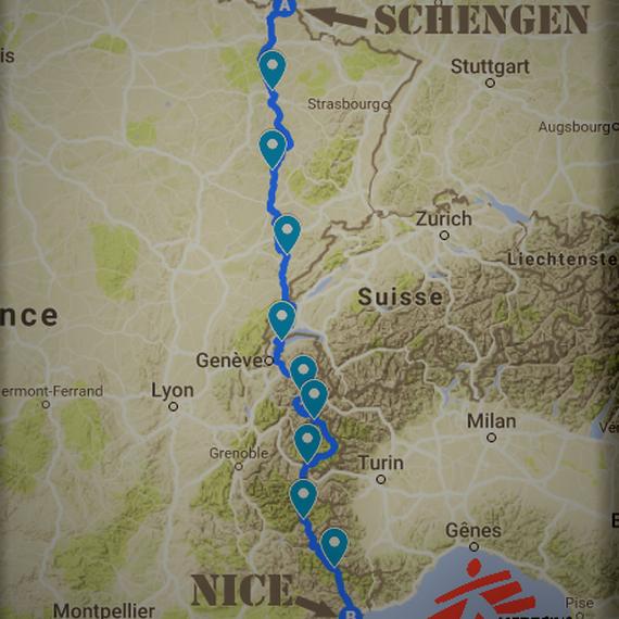 Schengen - Nice